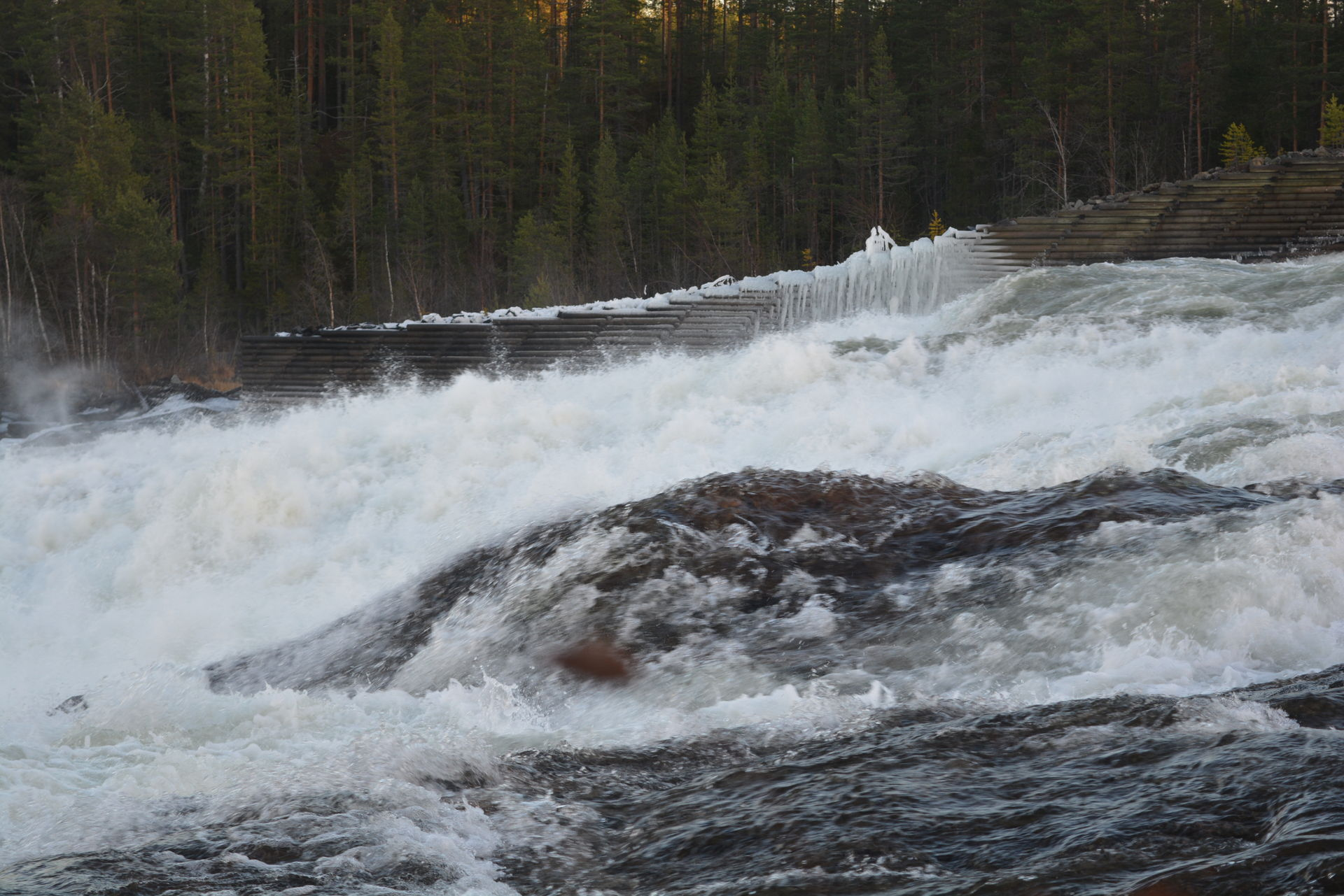 One of Europes biggest rapids.