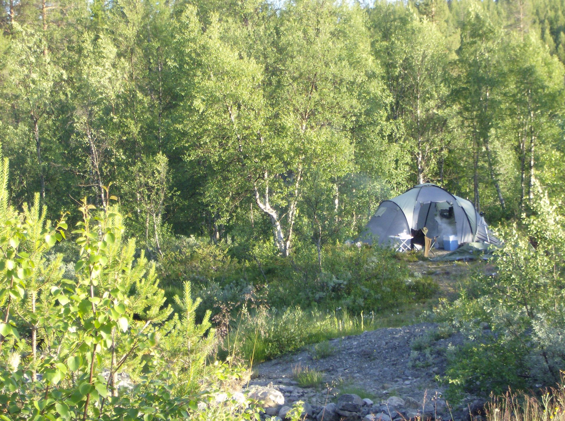Bushcraft & Survival camp in Lapland