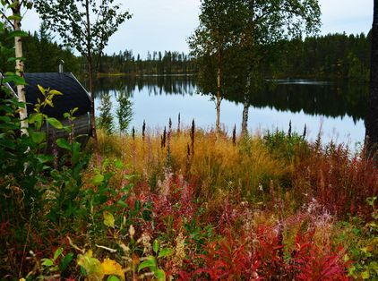 Lapland during the autumn