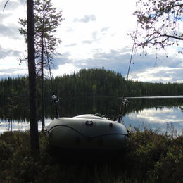 Guided fishing in Lapland